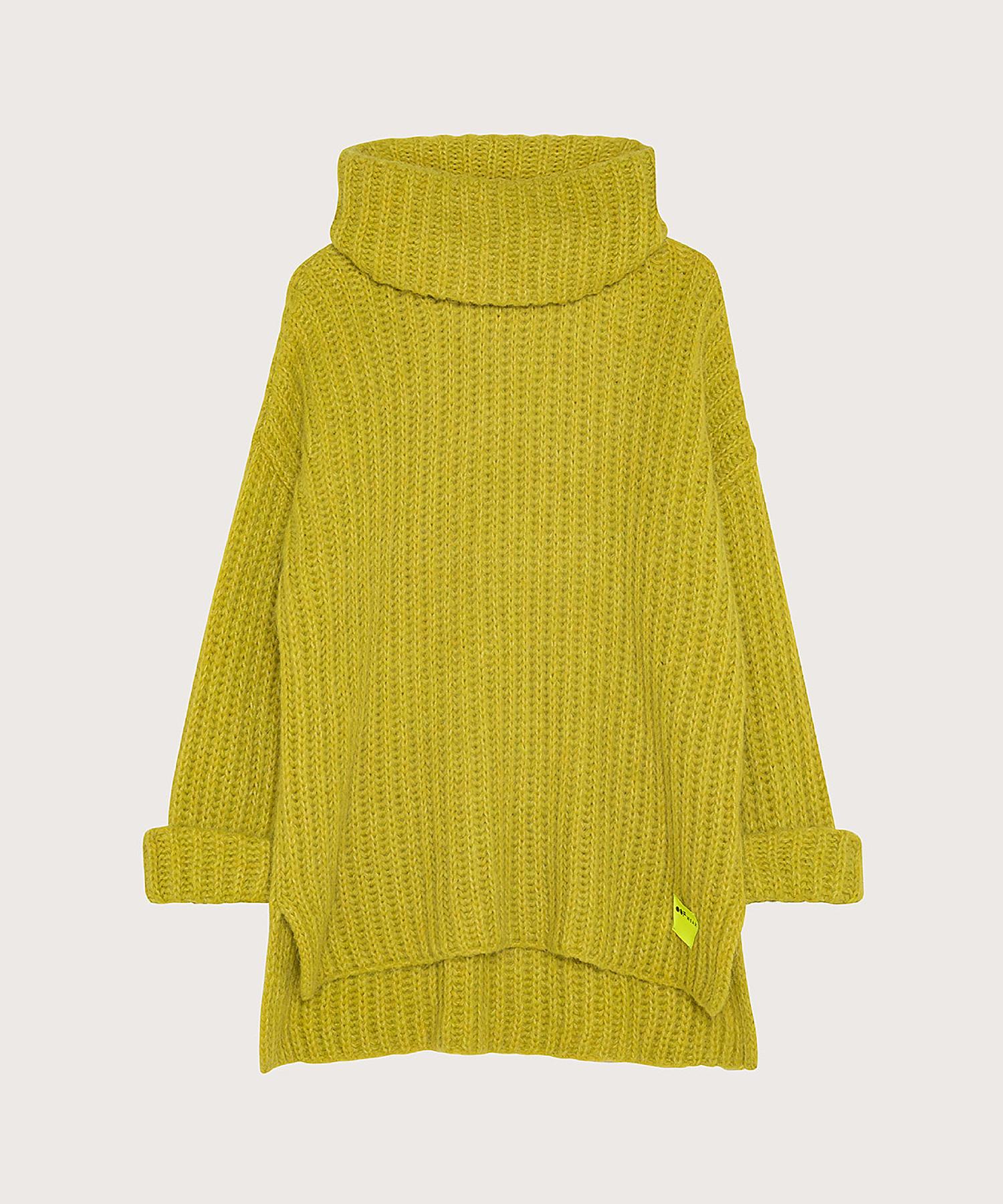 maglione verde fluo