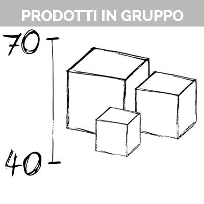 Composition of products (40-70cm)